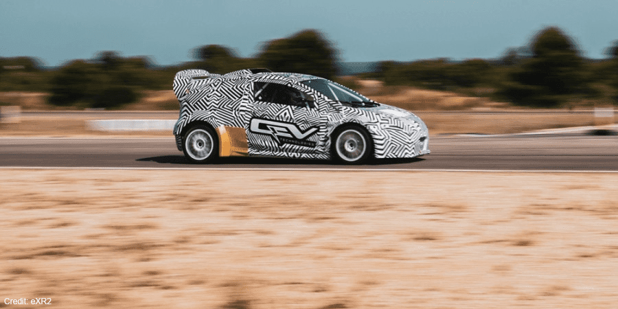 Rallycross is going electric in 2021 with a chaotic new race series across Europe