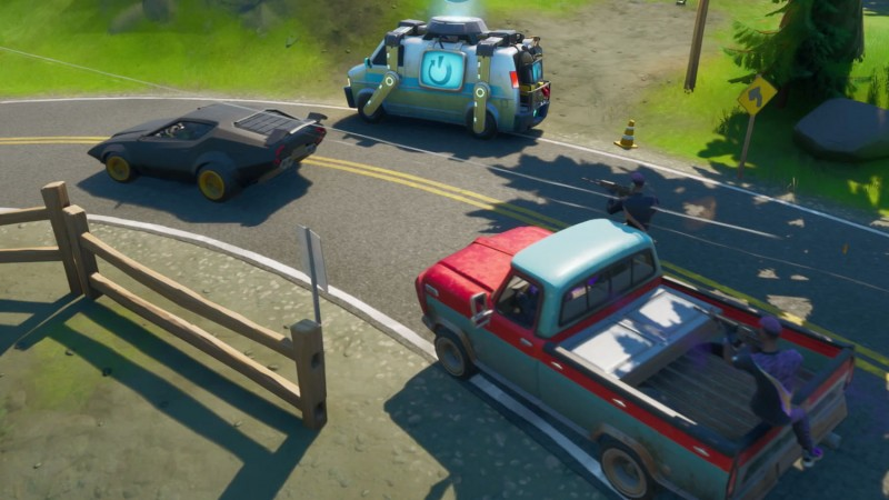 Fortnite's JoyRide Update Adds Drivable Cars On August 5