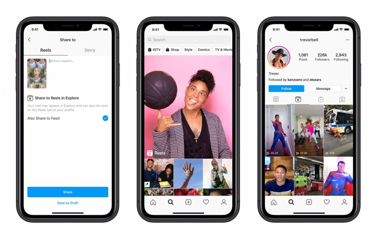 Instagram Reels is like TikTok with less controversy