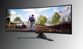 Save 33% on a gaming fantasy with this 43-inch curved monitor