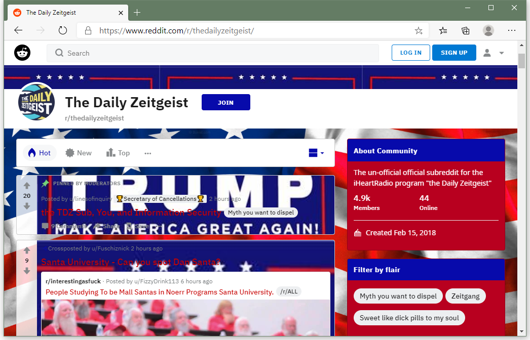 Hackers are defacing Reddit with pro-Trump messages