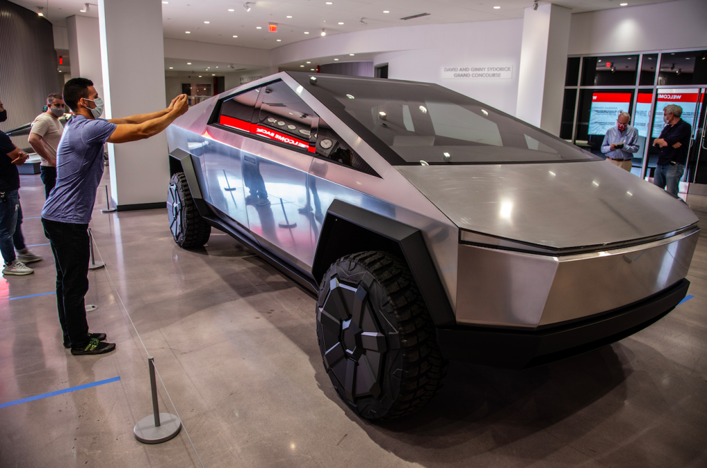 Tesla Cybertruck saves a life even before its deliveries begin