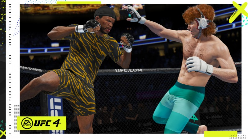 EA Sports UFC 4's New Approach To Create-A-Fighter
