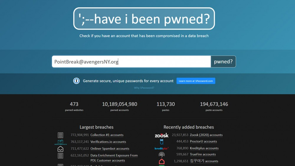 Login Security Project 'Have I Been Pwned' Goes Open Source – Review Geek