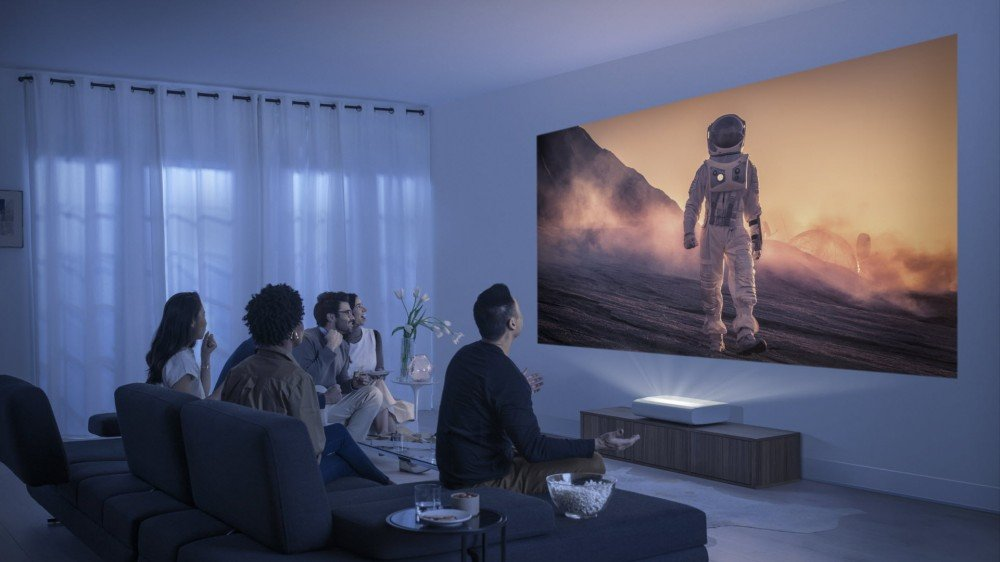 You Can Now Buy Samsung's Killer New Ultra Short Throw Projector – Review Geek