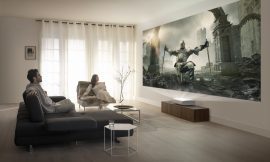 Samsung adds an ultra-short throw 4K laser projector to its Lifestyle lineup of TVs