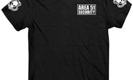 Area 51 t Shirt, Area 51 Security t-Shirt, Extraterrestrial Being, UFO t-Shirt
