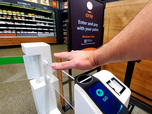Our first-hand experience with Amazon's new palm reader, and what it says about the future of retail