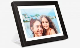 Enjoy beloved photos with this 10.1-inch digital photo frame for $68