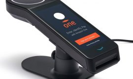 Amazon One verifies consumers and office workers by scanning the palm of their hand