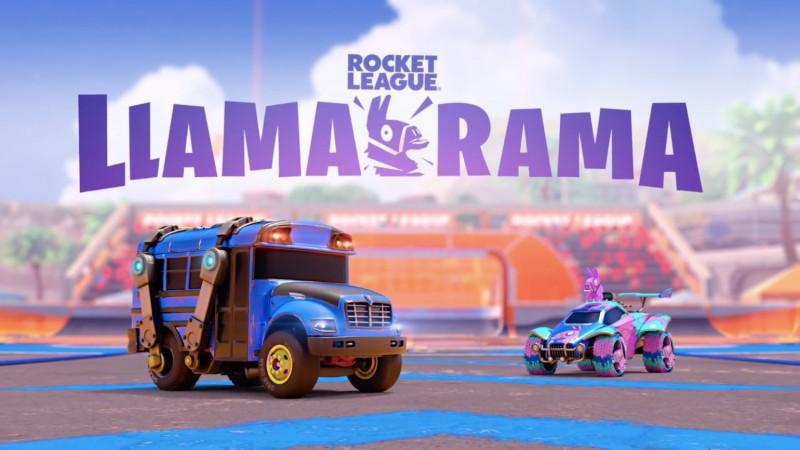 Play As Fortnite's Battle Bus In Rocket League Next Weekend