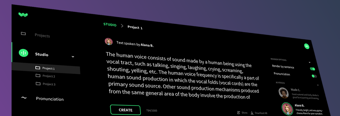WellSaid Labs research takes synthetic speech from seconds-long clips to hours – TechCrunch
