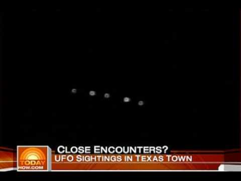NBC Today Show on Texas UFO