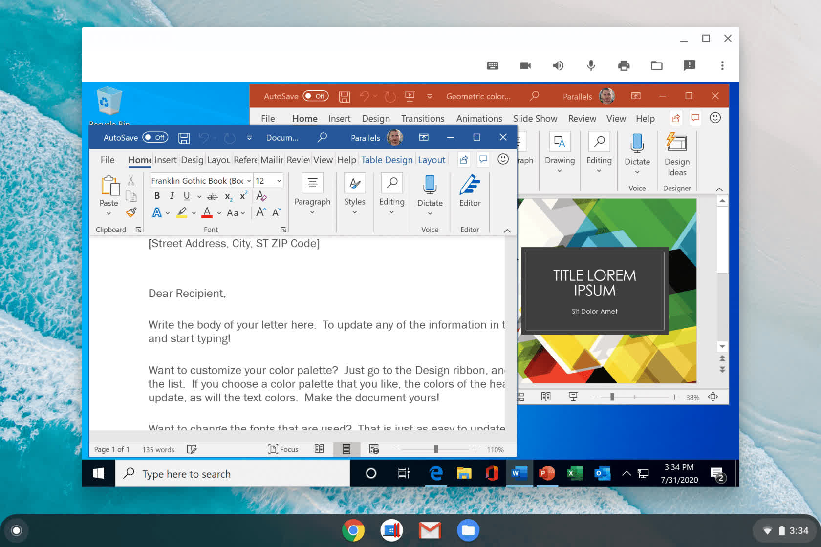 Enterprise Chromebooks can now run full Windows apps through Parallels partnership