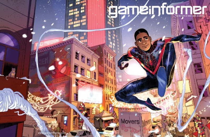 The Marvel's Spider-Man: Miles Morales Digital Issue Is Now Live