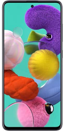 Samsung Galaxy A51 (128GB, 4GB) 6.5″, 48MP Quad Camera, Dual SIM GSM Unlocked A515F/DS- Global 4G LTE International Model (Black, 64GB SD + Case Bundle)