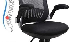 ZLHECTO Ergonomic Office Chair, High Back Desk Chair Hold Up to 300IBS, Computer Chair with Adjustable Headrest, Backrest, Seat Height &Flip-up Armrests, Executive Task Chairs for Conference Room