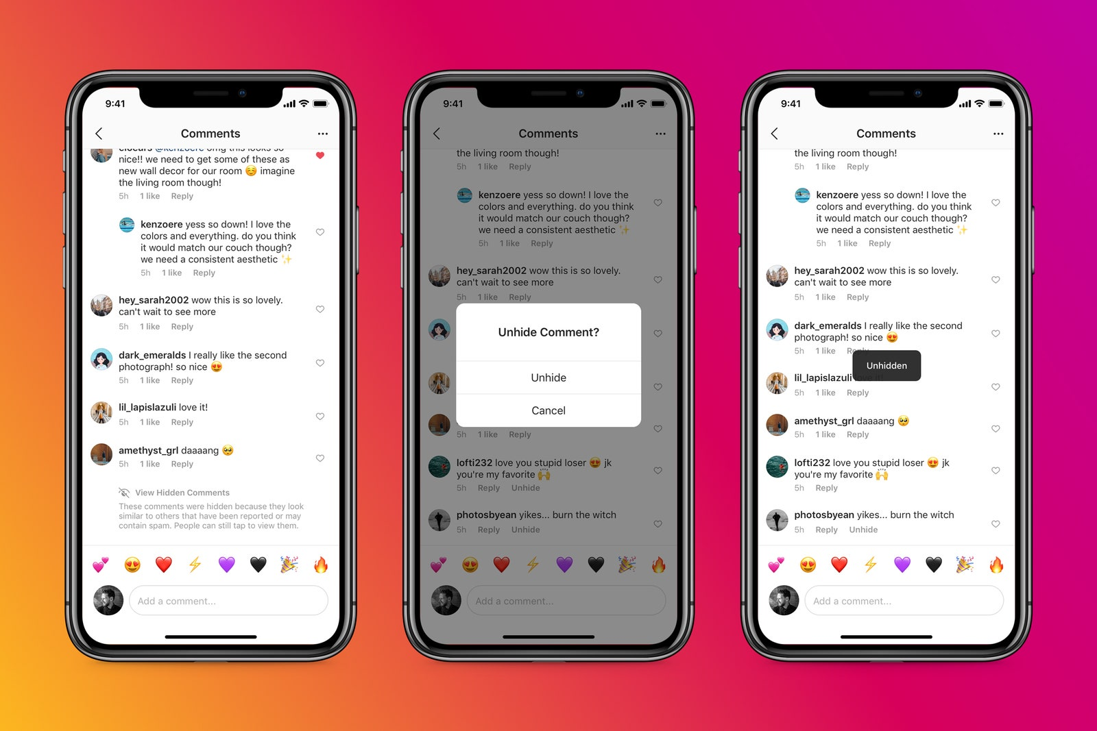 Covering Comments Is Instagram's Newest Anti-Bullying Tool