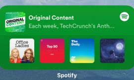Spotify launches an automatically updating iOS 14 widget – TechCrunch