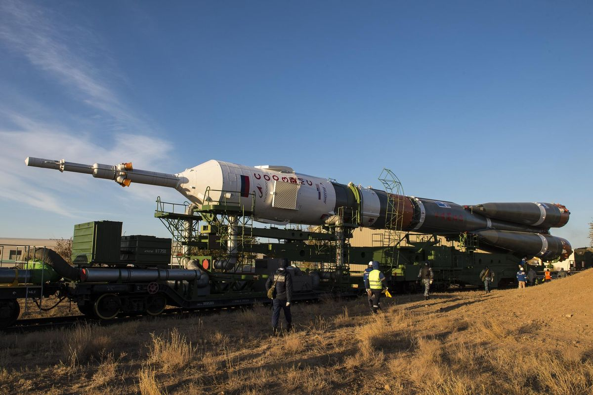 NASA astronaut set to launch on Russian rocket as US transitions to private spacecraft