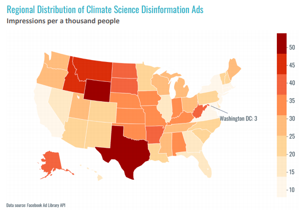 InfluenceMap: Facebook allows climate disinformation ads to flourish despite claims to the contrary