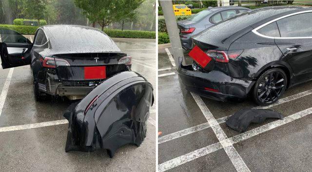 Tesla: Rain Can Cause Model 3 Bumpers to Detach