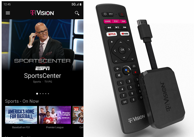Read more about the article T-Mobile revamps TVision service with live sports and news for $40/month, unveils $50 HUB device