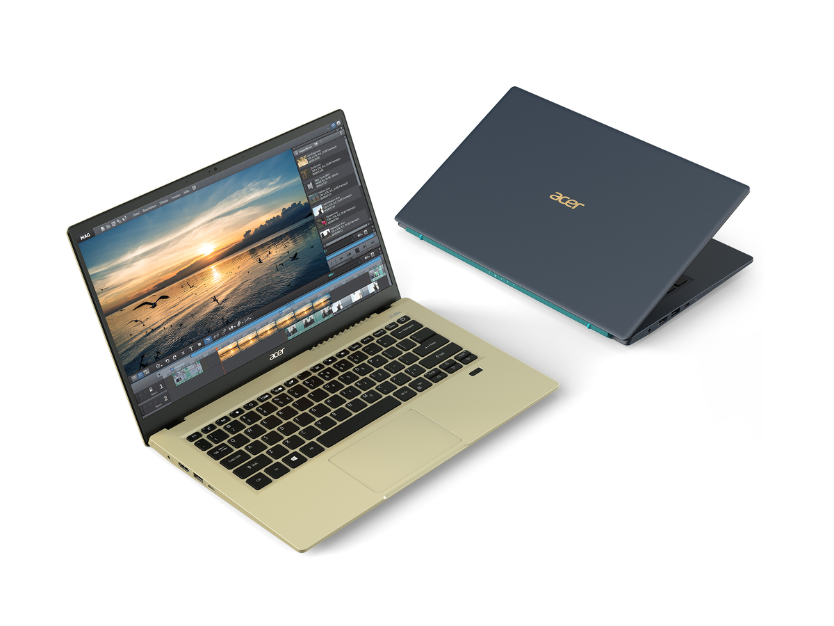 The Acer Swift 3x boasts Intel's new Iris Xe Max discrete GPU