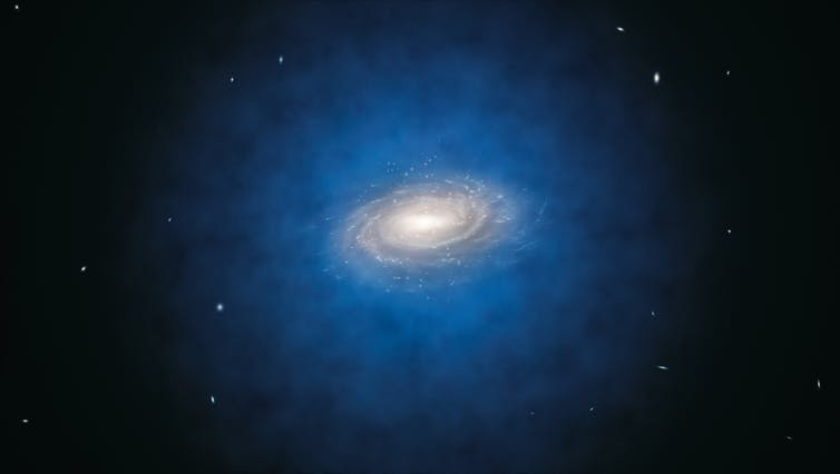 Galactic gas can help unveil what dark matter is made of