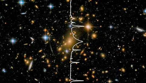 Sonification of a Hubble Deep Space Image