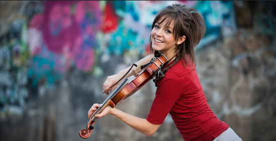 Lindsey Stirling Performs Artemis at NASA's Kennedy Space Center