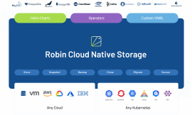 Robin.io launches a free version of its cloud-native Kubernetes storage solution – TechCrunch