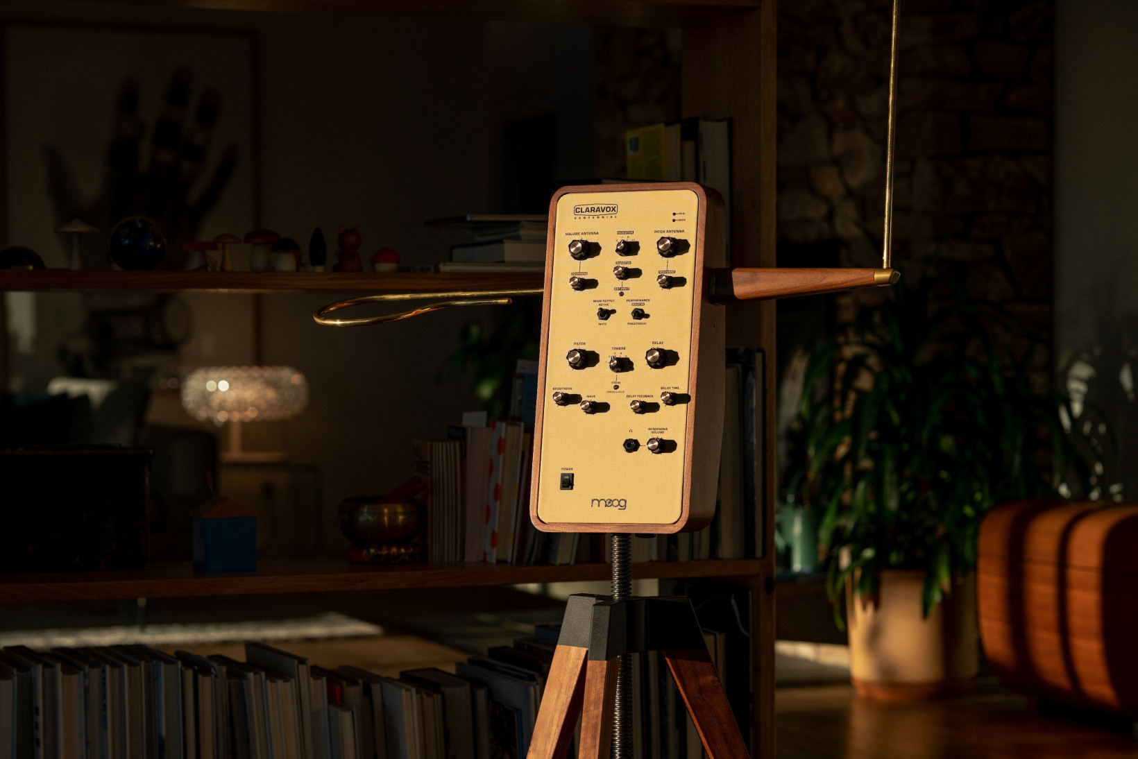 Moog built a super-fancy theremin to celebrate the instrument's 100th birthday