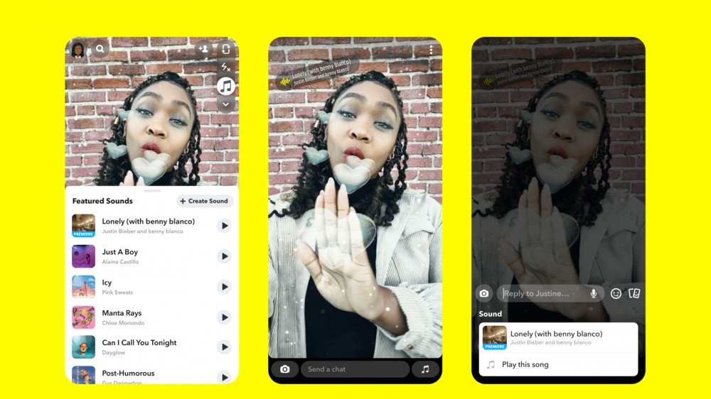 Snapchat Now Lets Users Add Music to Snaps and Stories – Review Geek