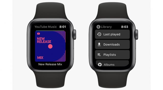 Google Launches YouTube Music on Apple Watch, Bypassing Wear OS