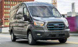 A closer look at Ford's all-electric Transit van