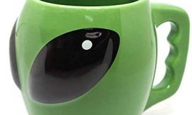 3D Aliens Cup Ceramic Cup Cool Mysterious UFO Conspicuous Ceramic Coffee mug