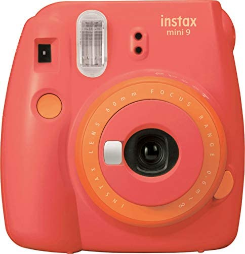 Fujifilm Mini 9 Instant Camera – Coral Papaya