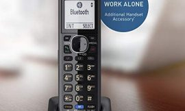 Panasonic DECT 6.0 Plus Cordless Phone Handset Accessory Compatible with 2-Line Cordless Phones KX-TG95xx Series Business telephones, Headset Jack – KX-TGA950B (Black)