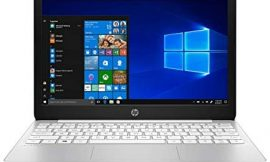 HP Stream Laptop PC 11.6″ Intel N4000 Quad Core 4GB DDR4 SDRAM 32GB eMMC Includes Office 365 Personal for One Year