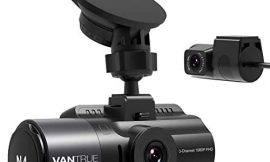 Vantrue N4 3 Channel Dash Cam, 1440P+1080P+1080P Front, Inside and Rear Triple Lens Three Way Car Dash Camera, IR Night Vision, Capacitor, 24 Hours Parking Mode, Collision Detection, Support 256GB Max