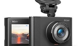 Anker Roav DashCam A1, Dash Cam for Car, Driving Recorder, 1080p FHD LCD Screen, Nighthawk Vision, Wide Angle Lens, Wi-Fi, G-Sensor, WDR, Loop Recording, Night Mode, Motion Detection, Dedicated App