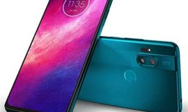 "Motorola One Hyper 128GB + 4GB RAM, XT202-1, 6.5"" FHD+, 64 MP Photos, LTE Factory Unlocked Smartphone – International Version (Blue Iceberg)"
