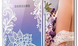 Cutebe Case for Galaxy Note 10 Plus,Shockproof Series Hard PC+ TPU Bumper Protective Case for Samsung Galaxy Note 10 Plus/5G 2019 Release Crystal Lace Design