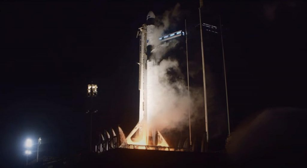 SpaceX Falcon 9 rocket nails first operational NASA astronaut launch