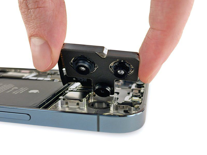 The latest teardown from iFixit shows how huge the iPhone 12 Pro Max camera is