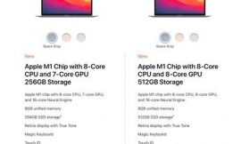MacBook Air and MacBook Pro M1 Chips Have Same 8-Core CPUs, No Upgrades Available