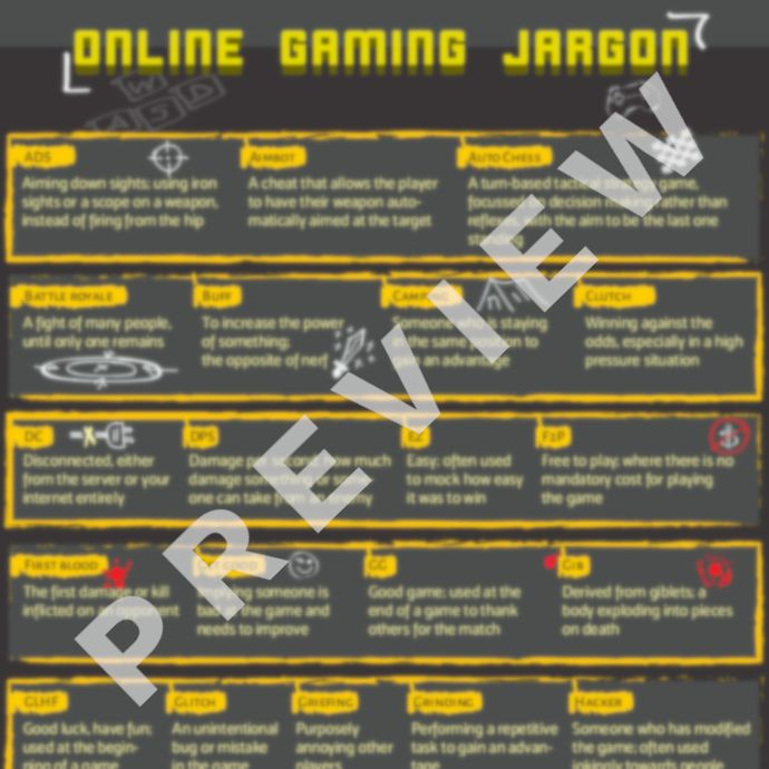 Online Gaming Cheat Sheet: 50 Common Terms & Acronyms, Explained