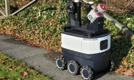 Spotted: Amazon robot maps sidewalks north of Seattle, laden with cameras and sensors