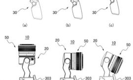 Canon patents an Osmo-style camera with interchangeable lenses